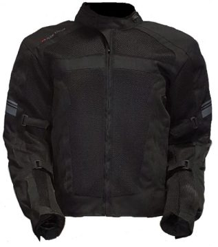 Black Mesh AirViz Jacket
