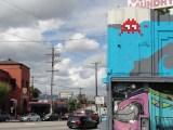 Invaders : streetart Invader à Los Angeles