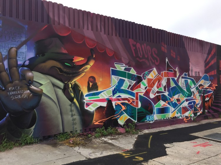 Fresco by Loomit & Kay at The Bushwick Collective