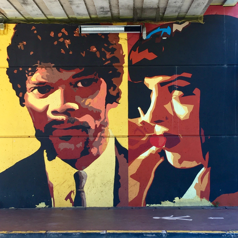Samuel L.Jackson & Uma Thurman dans Pulp Fiction