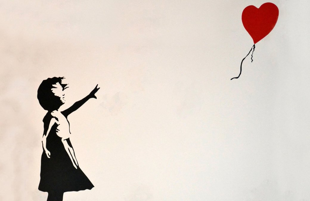 When Banksy plays with the art market. He also participates!