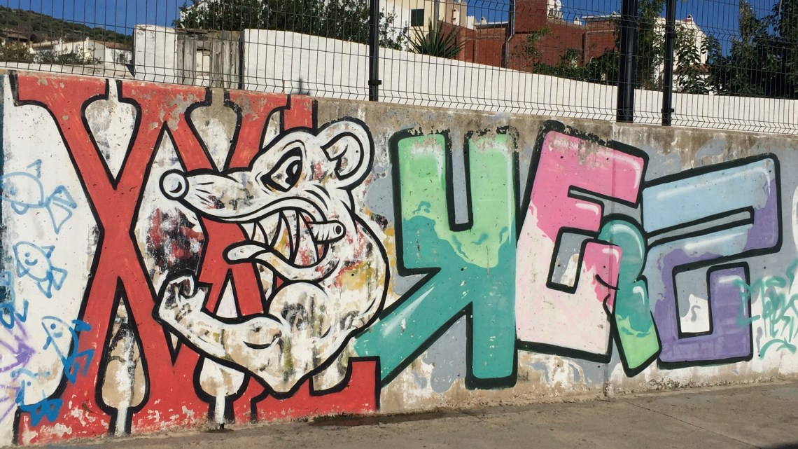 Graffiti and Street Art in Cadaqués, Salvador Dali's village! It's surreal!