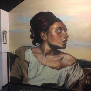 Fresque murale par André Ravo Mattoni