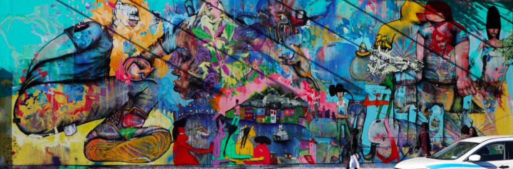 Houston Bowery Wall par David Choe