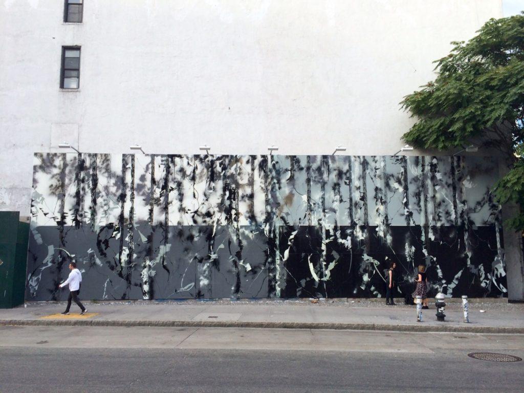 Houston Bowery Wall par Futura