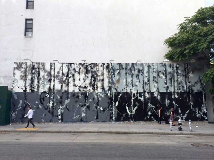 Houston Bowery Wall par Futura