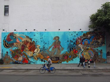 Houston Bowery Wall par SWOON