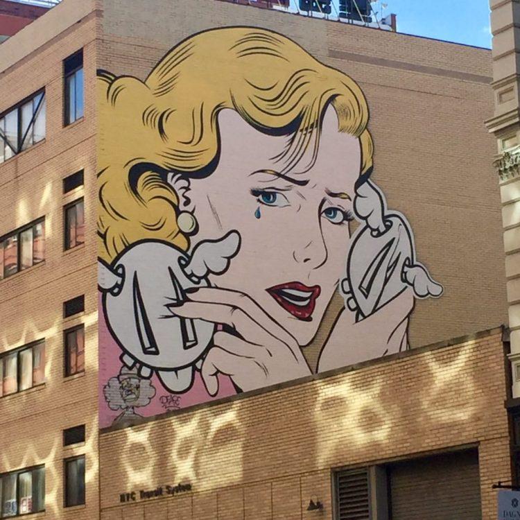 Doublecrossed par D*FACE - Street Art New York - Altinnov.blog