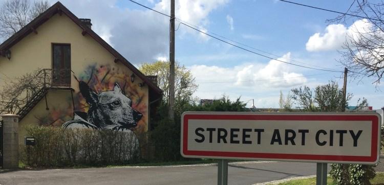 arrivée à Street Art City pour découvrir le meilleur du Street Art International