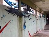 Entrée de l'Hôtel 128 à Street Art City