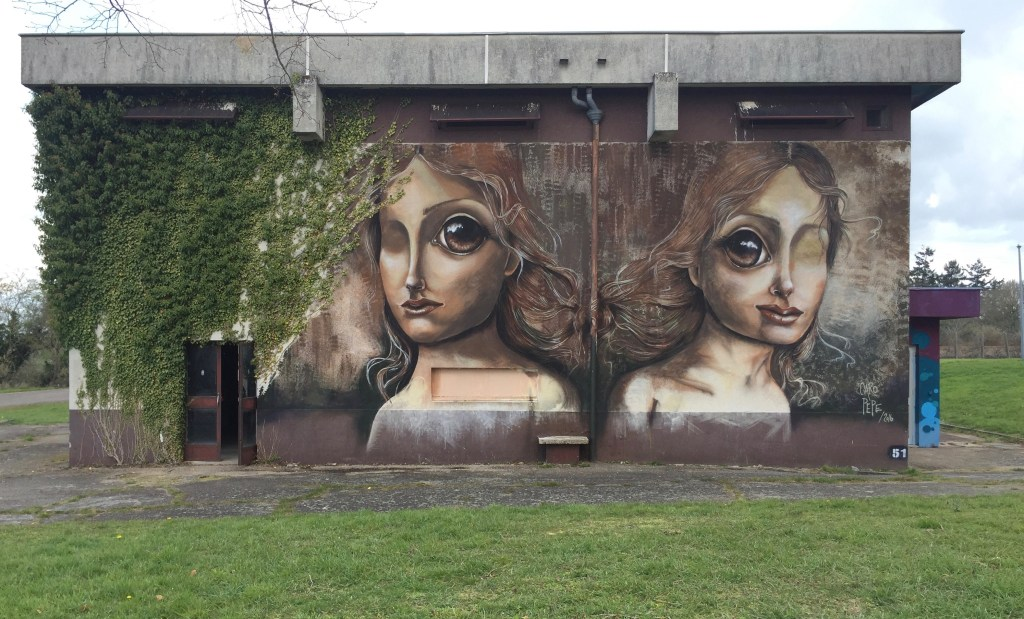 Street Art Fresque murale par Carolina Pepe - artiste argentine