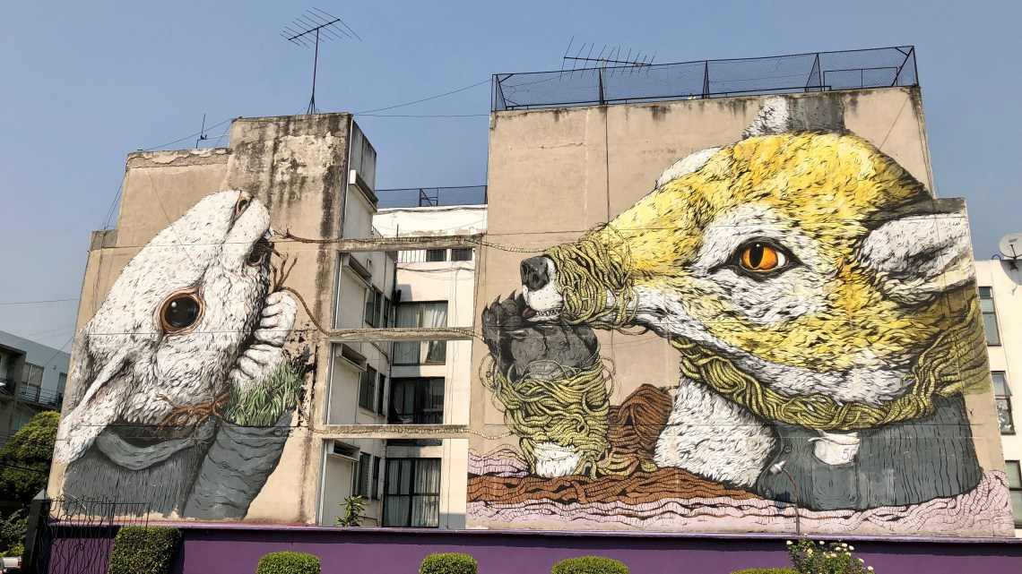 Mexico : The World Best City for Street Art ?