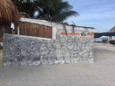 mural par Jaima.art street Art Holbox