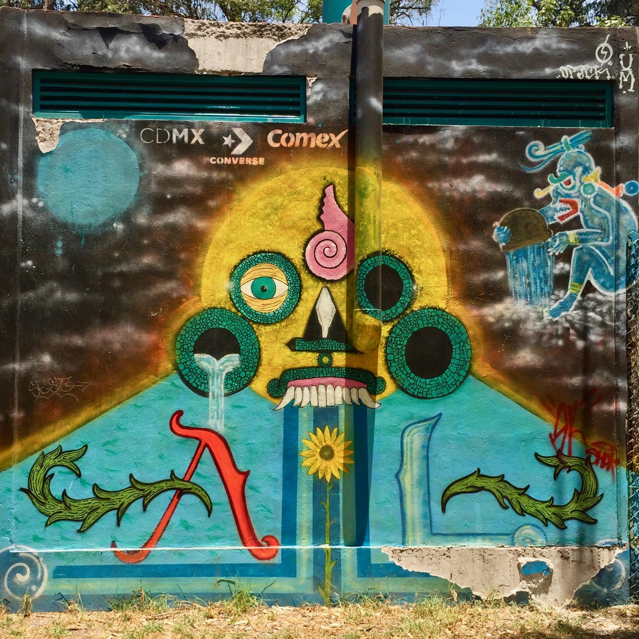DPACK gagnant concours STreet Art MExico sponsorisé par CDMX Converse Comex