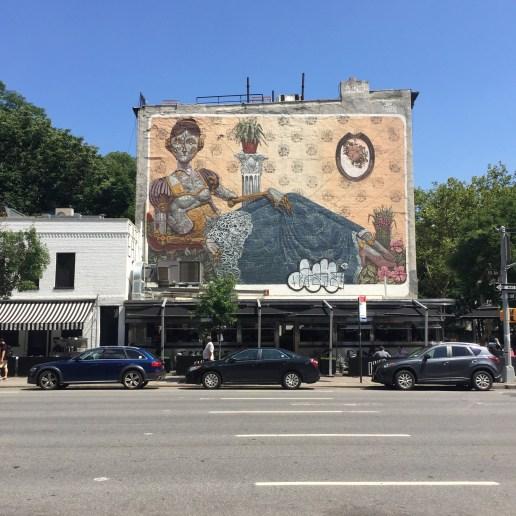Fresque murale réalisPixel Pancho à New York - Copyright: @Altinnovée par