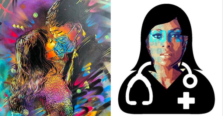 CORONAVIRUS : Le Street Art s'engage et récolte des fonds pour faire bouger les lignes !