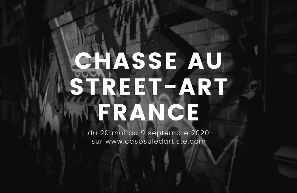 La chasse au Street Art est ouverte en France !