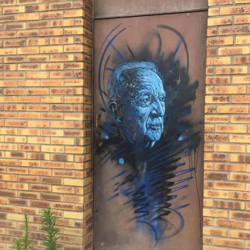 Pierre Soulages par Christian Guémy alias C215 - Copyright @Altinnov