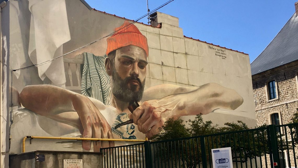Street Art in Boulogne-sur-mer located on the North French Coast: an exquisite discovery!