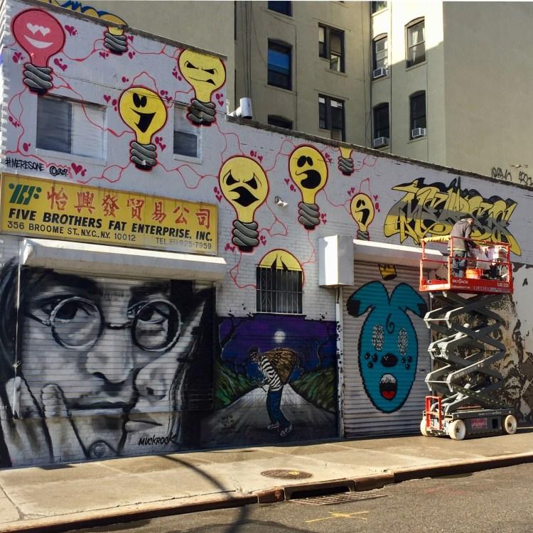 5 PointZ Meres One - Muck Rock - Vhils - Street Art New-York