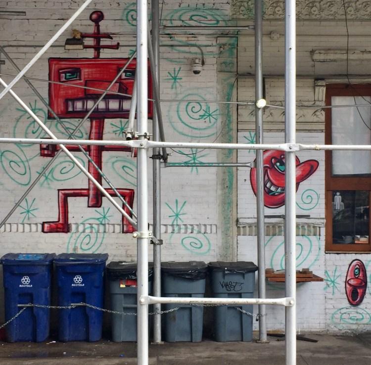 Kenny Scharf - Street Art Little Italy NYC