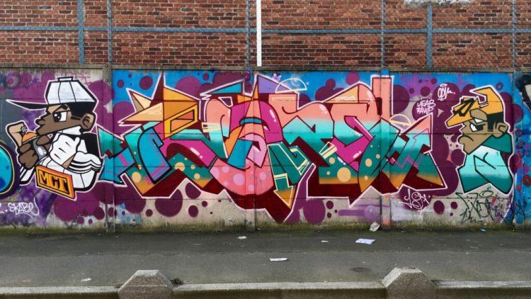 Graffitis et Street Art à Aubervilliers dans le 93