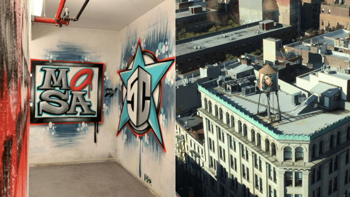 MOSA Bowery: From 5POINTZ in Queens to a 21-storey stairwell in Manhattan!