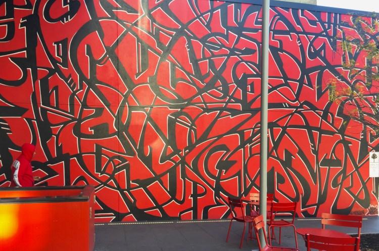 Mosa Bowery - CitizenM Hotel NYC - Graffiti Meres One
