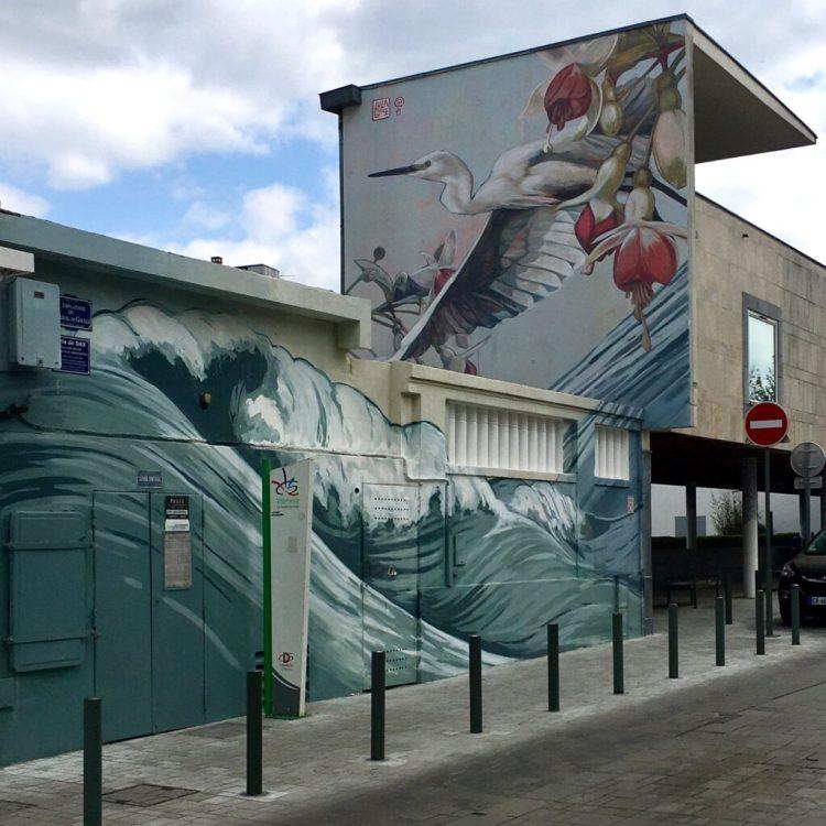 Street Art Dax - Oeuvre réalisée par l'artiste Lulagoce