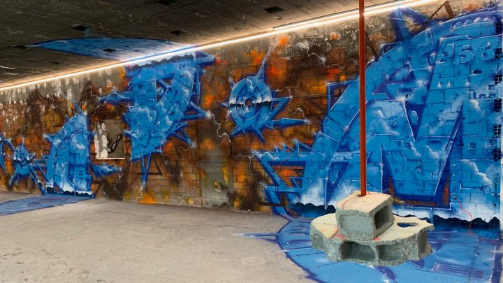 The Essential of Street Art and Contemporary Art in Paris in a disused postal sorting office!