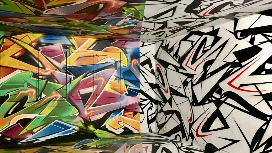 Immersion Street Art à Abbeville : découvrez le plus beau spot de Street Art & graffitis éphémère en France depuis longtemps !