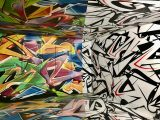 Street Art Abbeville - Oeuvre du graffeur français ZOYER