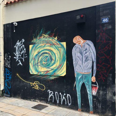 ROKO Street Art Athènes