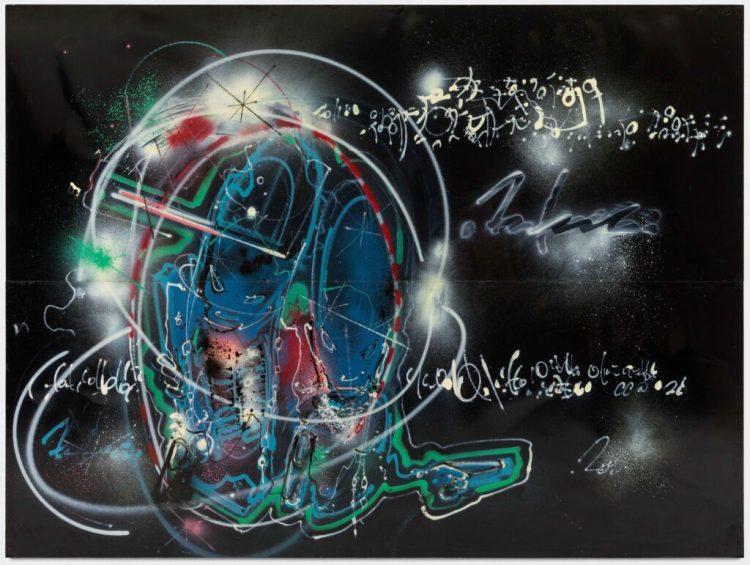 Ghost Galerie Paris - Oeuvre de Futura 2000 exposée à la Fun Galery de New York