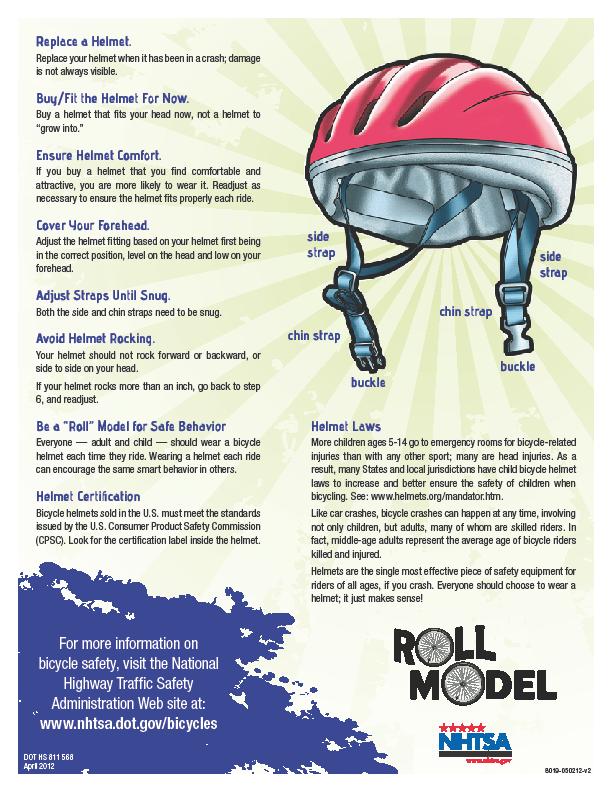 Fitting Bike Helmet pt 2