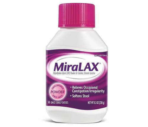 Giving Your Child MiraLAX? Stop and Consider.