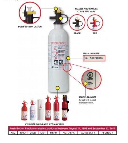 Fire Extinguisher Recall - Altizer Law