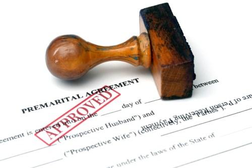 Prenuptial Agreements Popular with Millennials
