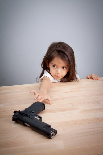 Children, Guns and Loaded Guns
