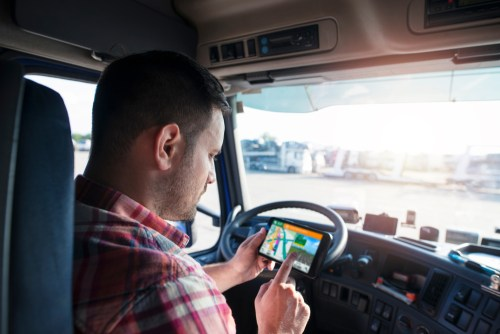 Accidents Caused by Distracted Truck Drivers
