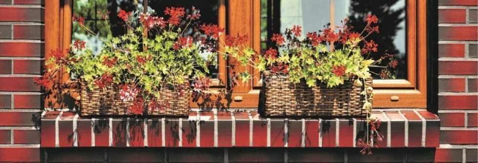 Клинкерный кирпич для фасада  здания LHL Klinkier Etna