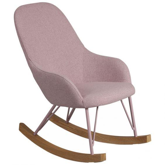 rosita rocking chair enfant rose