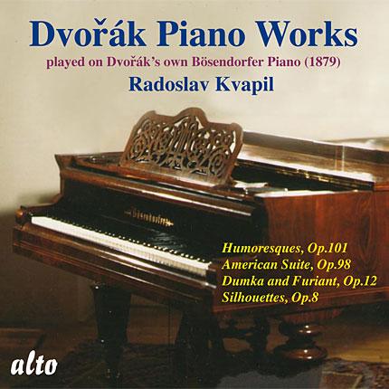 Dvořák Piano Works Played on Dvořák's Own Bösendorfer Piano