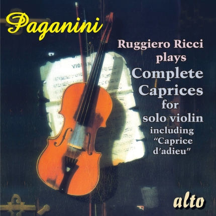 Paganini Complete Caprices for violin