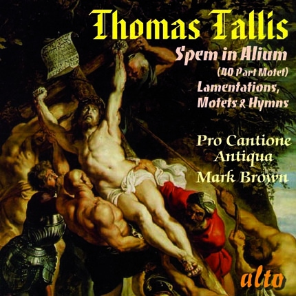 ALC1082 - Tallis: Spem in Alium / Lamentations / Motets / Hymns