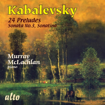 ALC1084 - Dmitri Kabalevsky: 24 Preludes and Other Piano Works