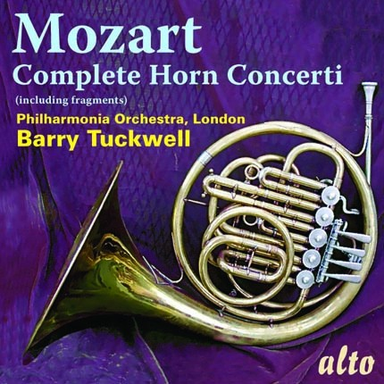 ALC 1107 - Mozart: Complete Horn Concertos and Fragments