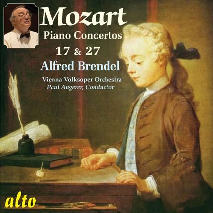 ALC 1114 - Brendel Plays Mozart: Piano Concertos Nos. 17 & 27