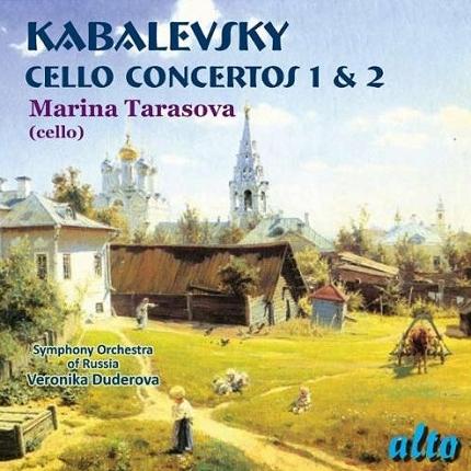 ALC1116 - Kabalevsky: Cello Concertos Nos. 1 & 2