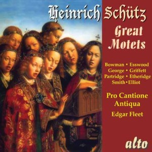 ALC 1118 - Schütz: Great Motets